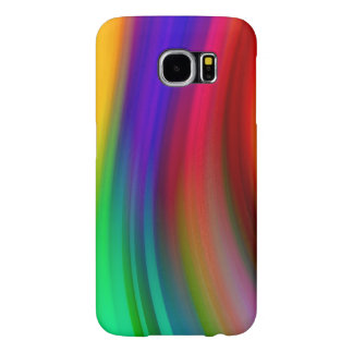 Capa Para Samsung Galaxy S6 Ondas legal 3 do abstrato