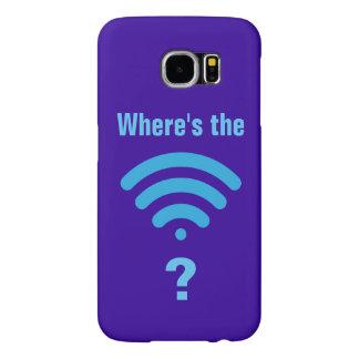 Capa Para Samsung Galaxy S6 Onde está WiFi?