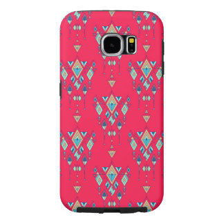 Capa Para Samsung Galaxy S6 Ornamento asteca tribal étnico do vintage