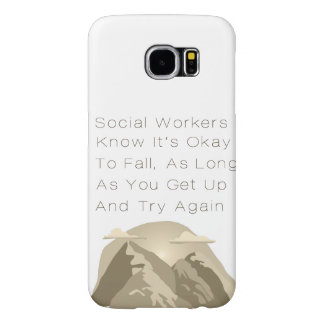 Capa Para Samsung Galaxy S6 Os assistentes sociais sabem inspirador