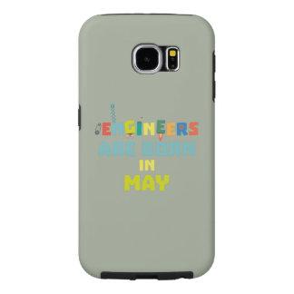 Capa Para Samsung Galaxy S6 Os engenheiros são em maio Z863d nascidos