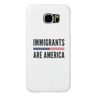Capa Para Samsung Galaxy S6 Os imigrantes são América