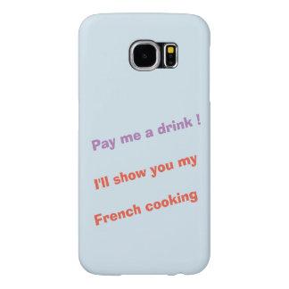 Capa Para Samsung Galaxy S6 Pague-me uma bebida!