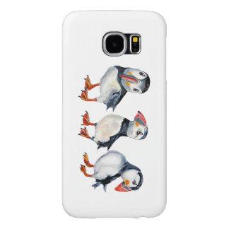 Capa Para Samsung Galaxy S6 Papagaio-do-mar