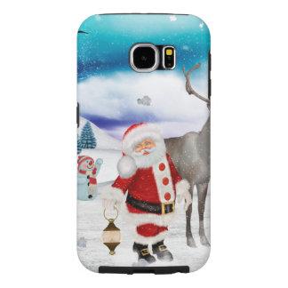 Capa Para Samsung Galaxy S6 Papai Noel engraçado