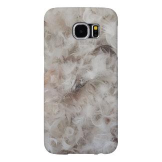Capa Para Samsung Galaxy S6 Para baixo o cobertor empluma-se a fotografia
