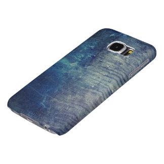 Capa Para Samsung Galaxy S6 Parede azul