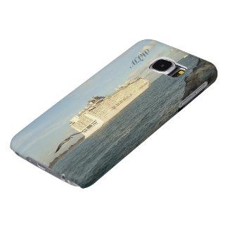 Capa Para Samsung Galaxy S6 Perseguição épico - gaivota atrás do navio de