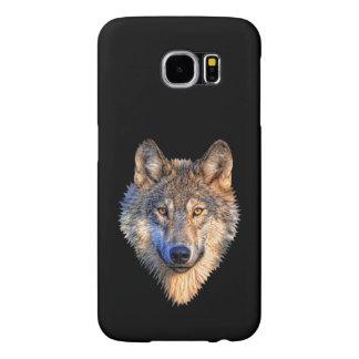 Capa Para Samsung Galaxy S6 Personalize a cabeça legal do lobo