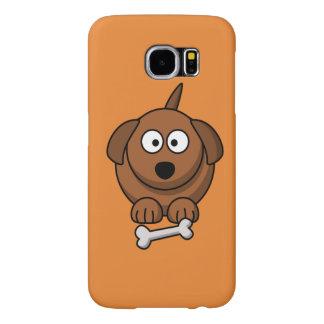 Capa Para Samsung Galaxy S6 Personalize o cão bonito para miúdos