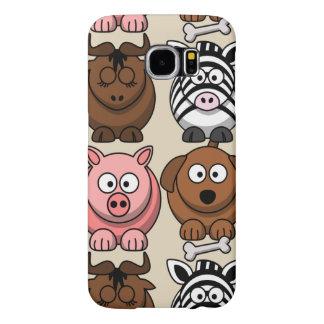 Capa Para Samsung Galaxy S6 Personalize o exemplo bonito dos animais da