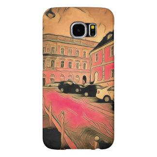 Capa Para Samsung Galaxy S6 Pintura de Sibiu