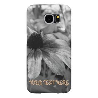 Capa Para Samsung Galaxy S6 Preto e exemplo do Wildflower