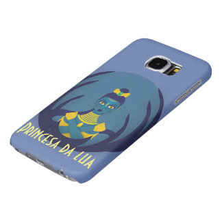 Capa Para Samsung Galaxy S6 Princesa da lua
