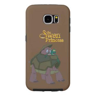 Capa Para Samsung Galaxy S6 Princesa Velocidade da cisne e caixa da galáxia S6