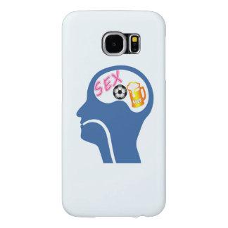 Capa Para Samsung Galaxy S6 Psique masculina