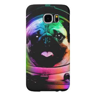 Capa Para Samsung Galaxy S6 Pug do astronauta - pug da galáxia - espaço do pug