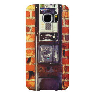 Capa Para Samsung Galaxy S6 REFRIGERE o Payphone abandonado