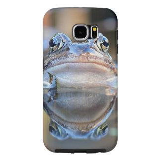 Capa Para Samsung Galaxy S6 Retrato comum do sapo