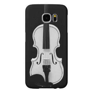 Capa Para Samsung Galaxy S6 Retrato do violino - fotografia preto e branco