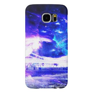 Capa Para Samsung Galaxy S6 Safira Amethyst Budapest Sapphir de Amorem Amisi