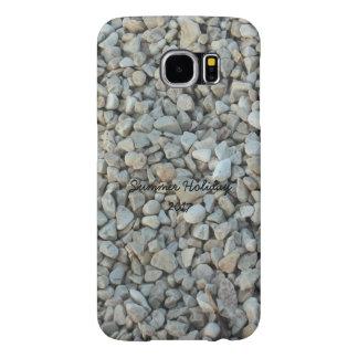 Capa Para Samsung Galaxy S6 Seixos na fotografia da pedra da praia