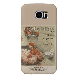 Capa Para Samsung Galaxy S6 Seja amável aos animais 2PS