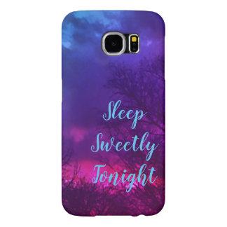 Capa Para Samsung Galaxy S6 Sono doce hoje à noite