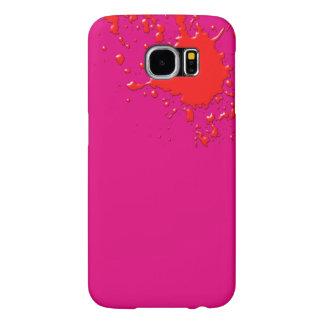 Capa Para Samsung Galaxy S6 Surpresa do rosa quente