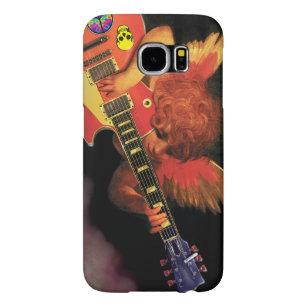 Capa Para Samsung Galaxy S6 Tampa elétrica de Samsung GS6 do herói da guitarra