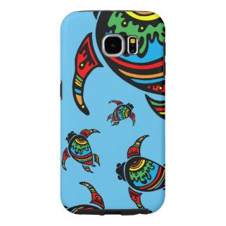 Capa Para Samsung Galaxy S6 Tartarugas de mar