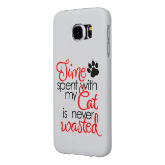 Capa Para Samsung Galaxy S6 Tempo com gato