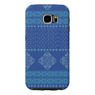 Capa Para Samsung Galaxy S6 Teste padrão feito malha Natal