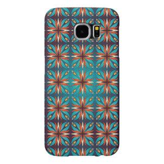 Capa Para Samsung Galaxy S6 Teste padrão sem emenda retro geométrico abstrato