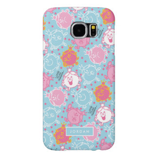 Capa Para Samsung Galaxy S6 Testes padrões cor-de-rosa da senhorita princesa  