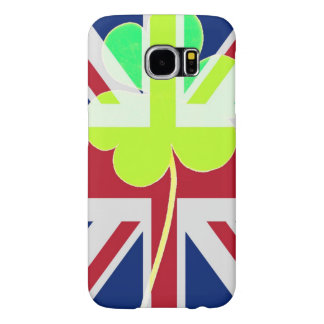 Capa Para Samsung Galaxy S6 Trevo britânico irlandês St Patrick Reino Unido do