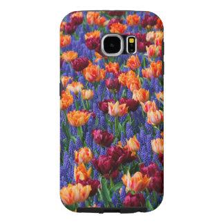 Capa Para Samsung Galaxy S6 Tulipas