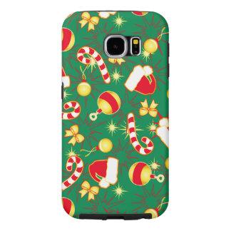 Capa Para Samsung Galaxy S6 Verde - o boné do papai noel