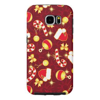 Capa Para Samsung Galaxy S6 Vermelho - o boné do papai noel