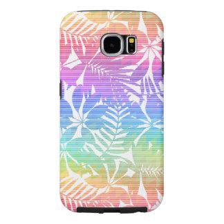 Capa Para Samsung Galaxy S6 Viga tropical da folha