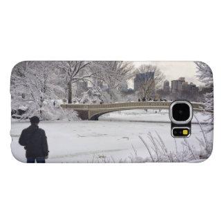 Capa Para Samsung Galaxy S6 Vista para fora sobre a lagoa congelada A