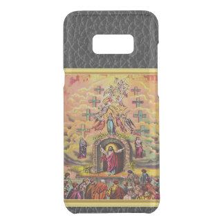 Capa Para Samsung Galaxy S8+ Da Uncommon A porta do céu com uma textura e um Jesus da folha