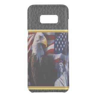 Capa Para Samsung Galaxy S8+ Da Uncommon Águia americana uma estátua da liberdade uma