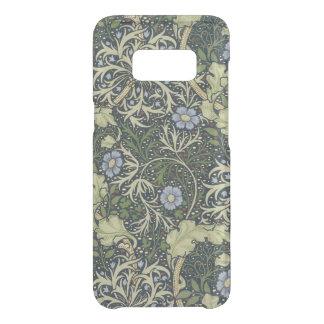 Capa Para Samsung Galaxy S8 Da Uncommon Arte floral do vintage do teste padrão da alga de