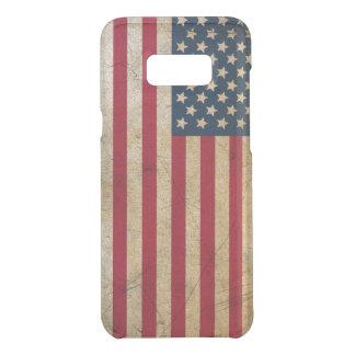 Capa Para Samsung Galaxy S8+ Da Uncommon Bandeira americana do vintage