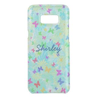 Capa Para Samsung Galaxy S8+ Da Uncommon Borboletas e margaridas coloridas por Shirley