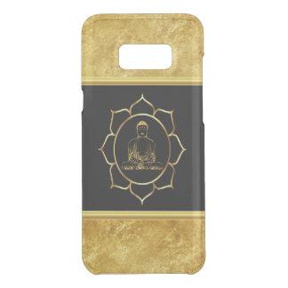 Capa Para Samsung Galaxy S8+ Da Uncommon Buddha que faz a folha de ouro espiritual da