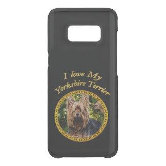 Capa Para Samsung Galaxy S8 Da Uncommon Cão pequeno do yorkshire terrier doce