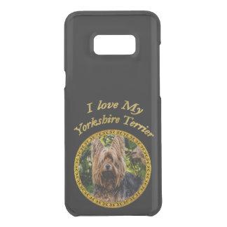 Capa Para Samsung Galaxy S8+ Da Uncommon Cão pequeno do yorkshire terrier doce