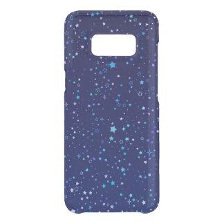Capa Para Samsung Galaxy S8 Da Uncommon Cintilação Stars2 azul